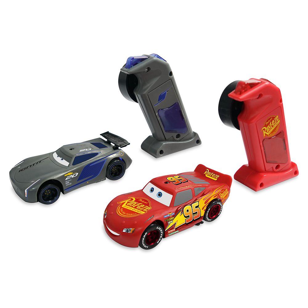 Cars Racetrack Pit Stop Set