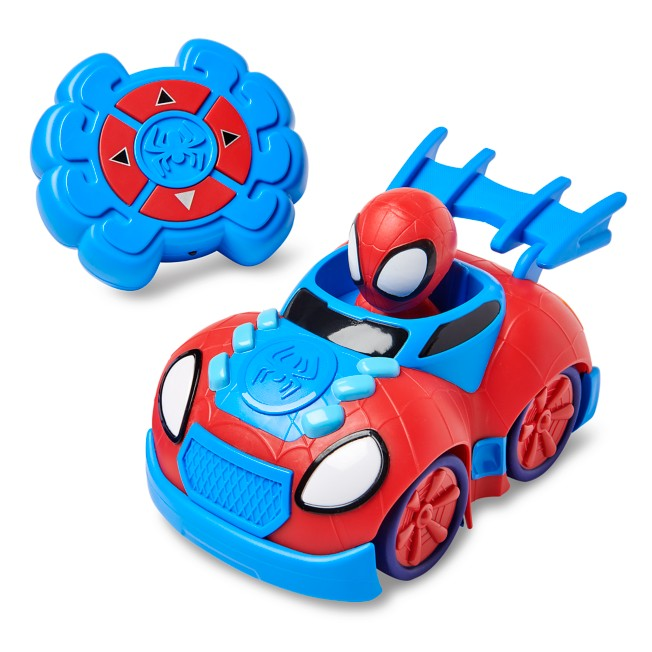 Spidey Web Crawler Remote Control Car – Marvel's Spidey and His Amazing Friends