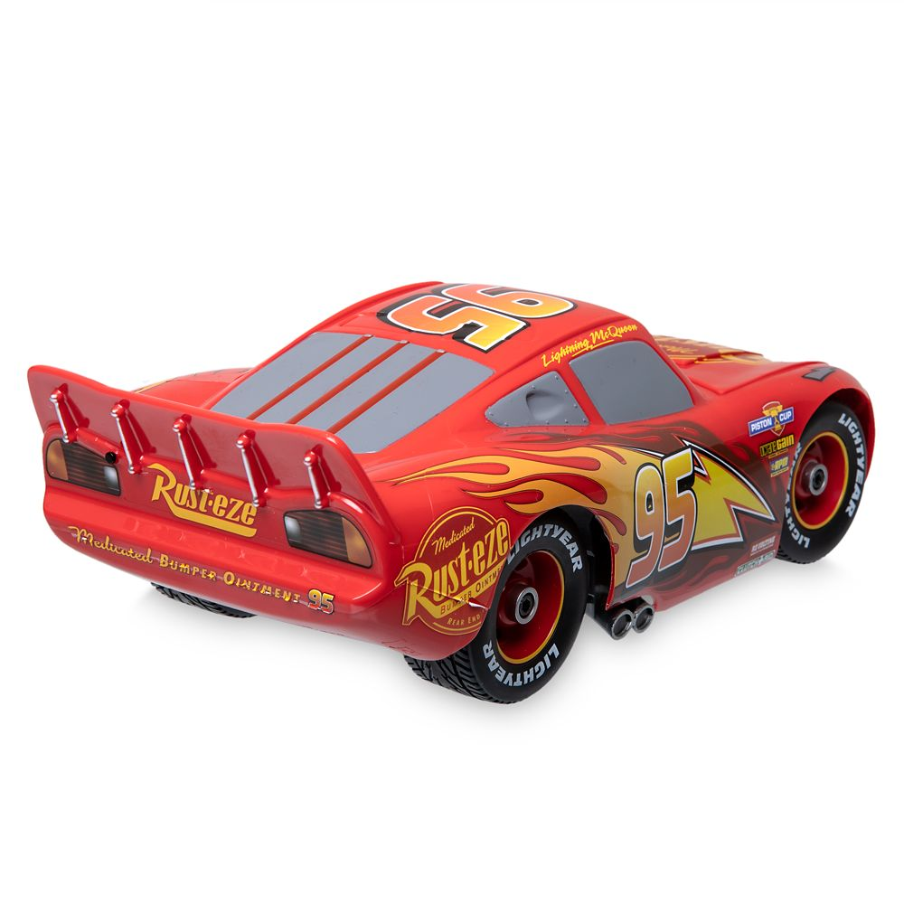Lightning McQueen Build to Race Remote Control Vehicle