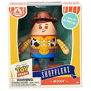 Woody Shufflerz Walking Figure - Toy Story