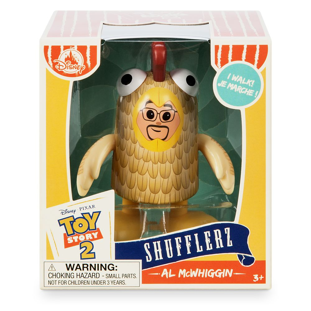 Al McWhiggin Shufflerz Walking Figure – Toy Story 2