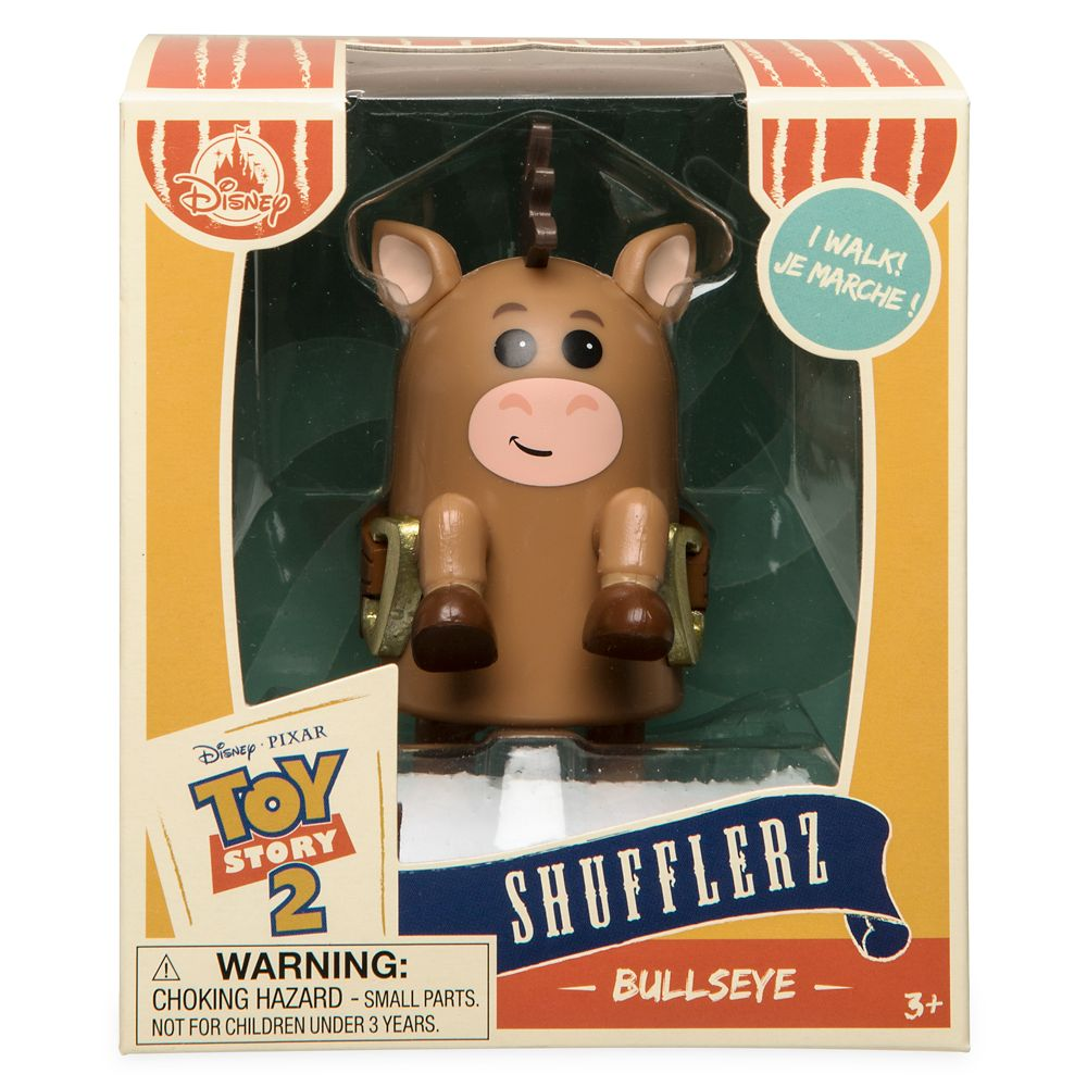 Bullseye Shufflerz Walking Figure – Toy Story 2