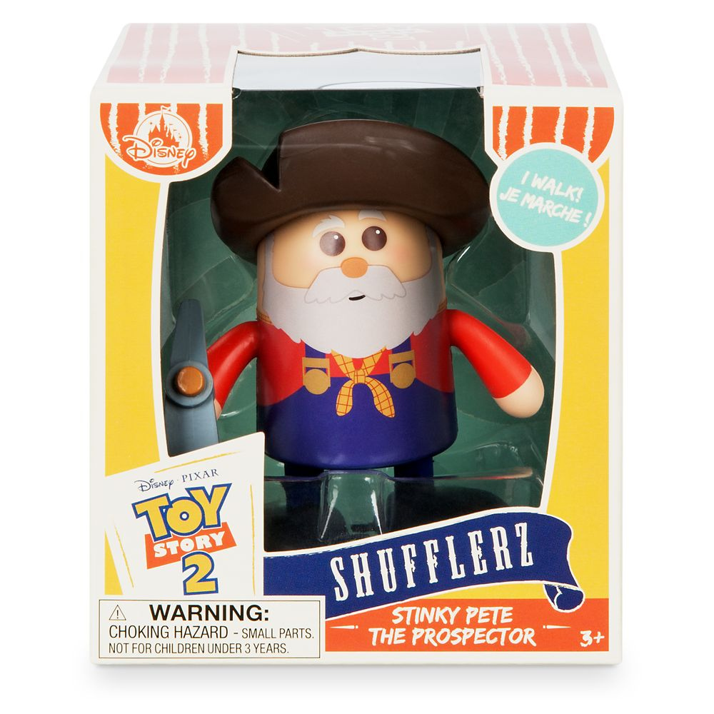 Stinky Pete The Prospector Shufflerz Walking Figure – Toy Story 2