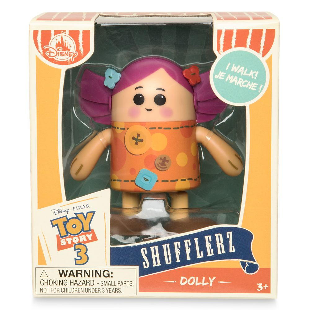 Dolly Shufflerz Walking Figure – Toy Story 3