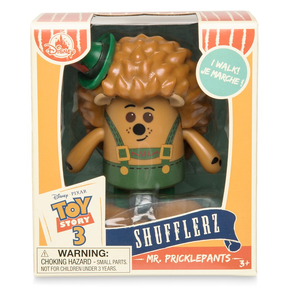 Mr. Pricklepants Shufflerz Walking Figure – Toy Story 3