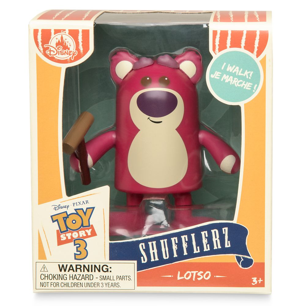 Lotso Shufflerz Walking Figure – Toy Story 3