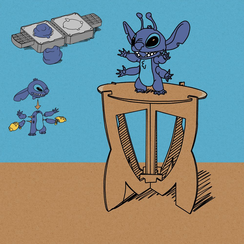 Stitch Experiment Kit Craft Set