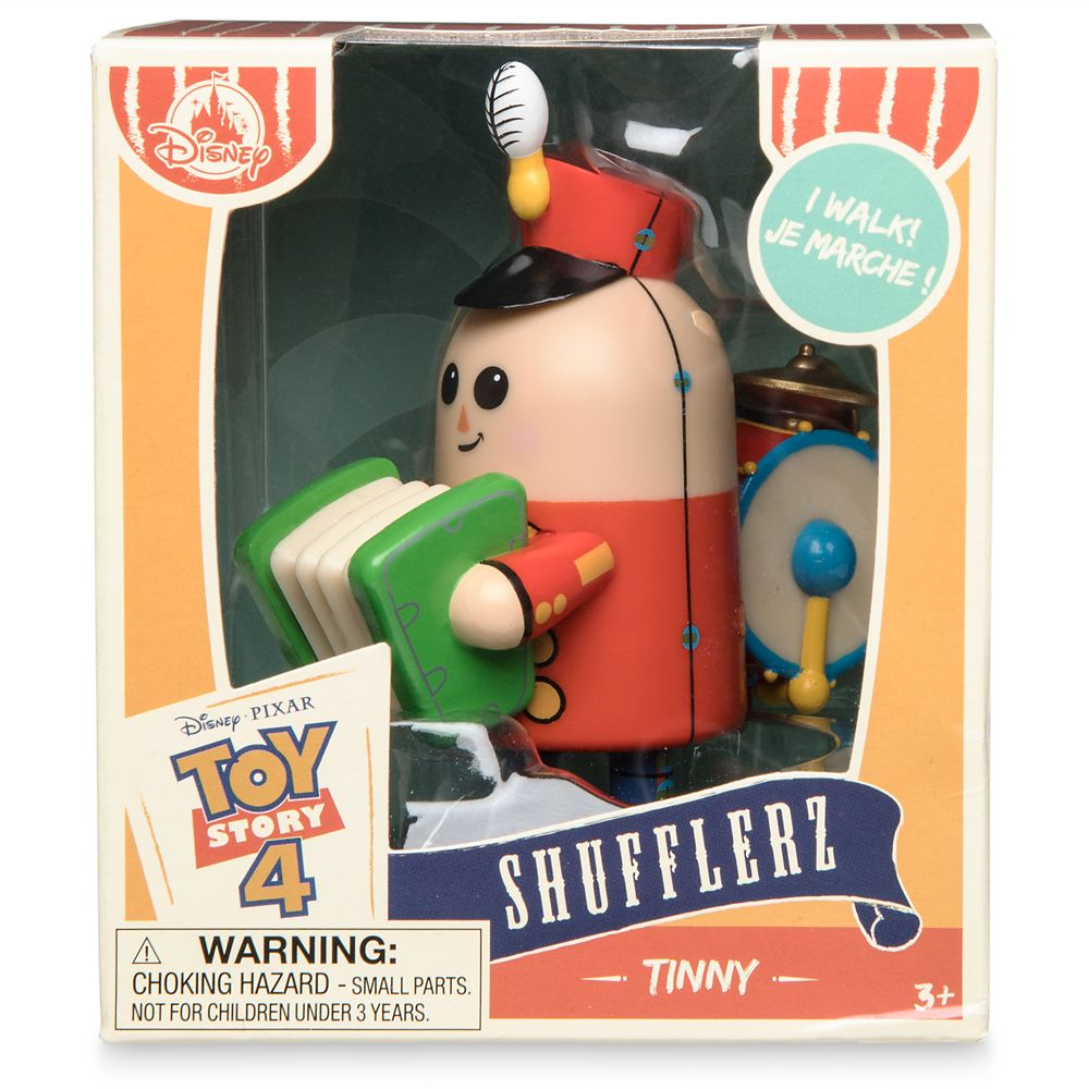 Tinny Shufflerz Walking Figure – Toy Story 4
