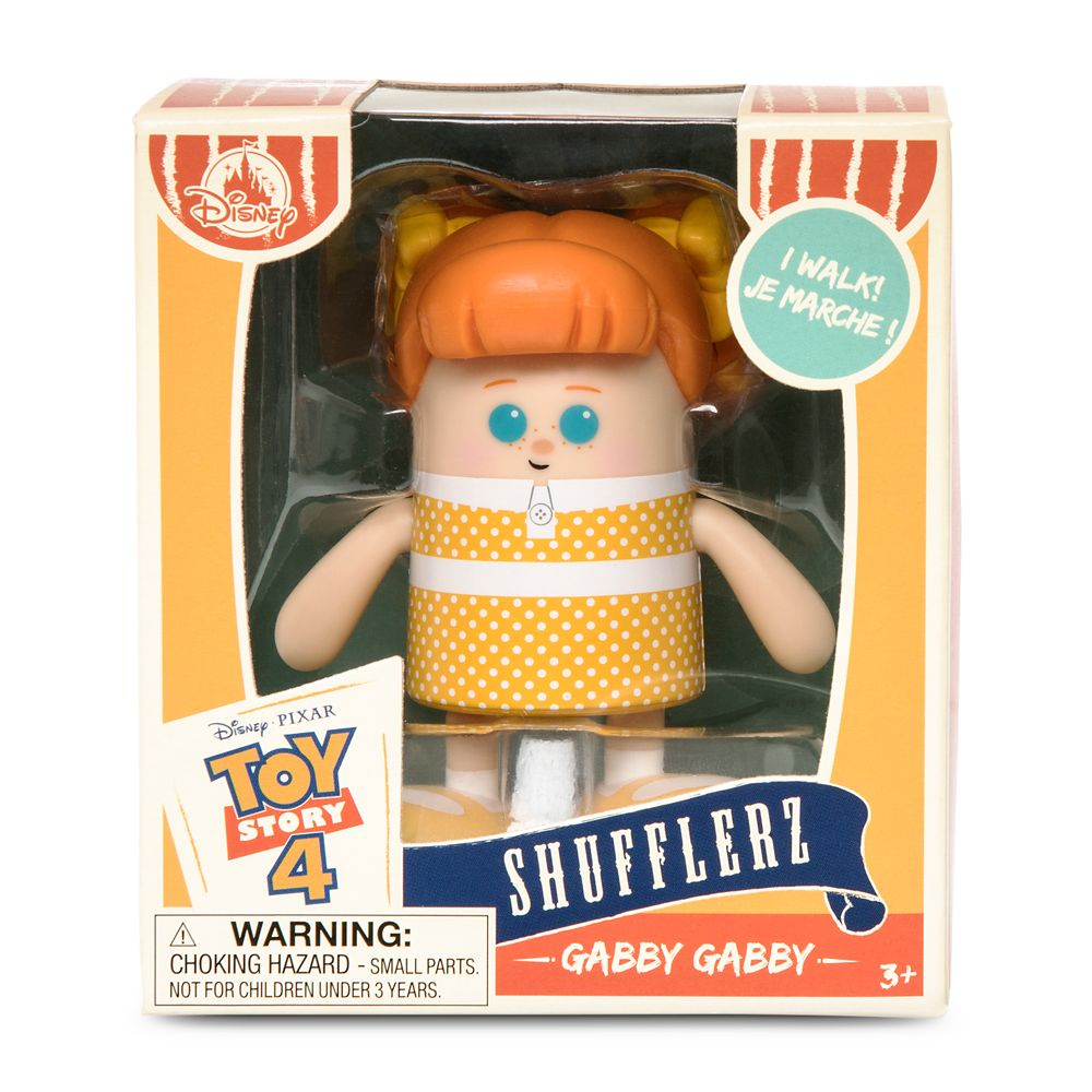 Gabby Gabby Shufflerz Walking Figure – Toy Story 4