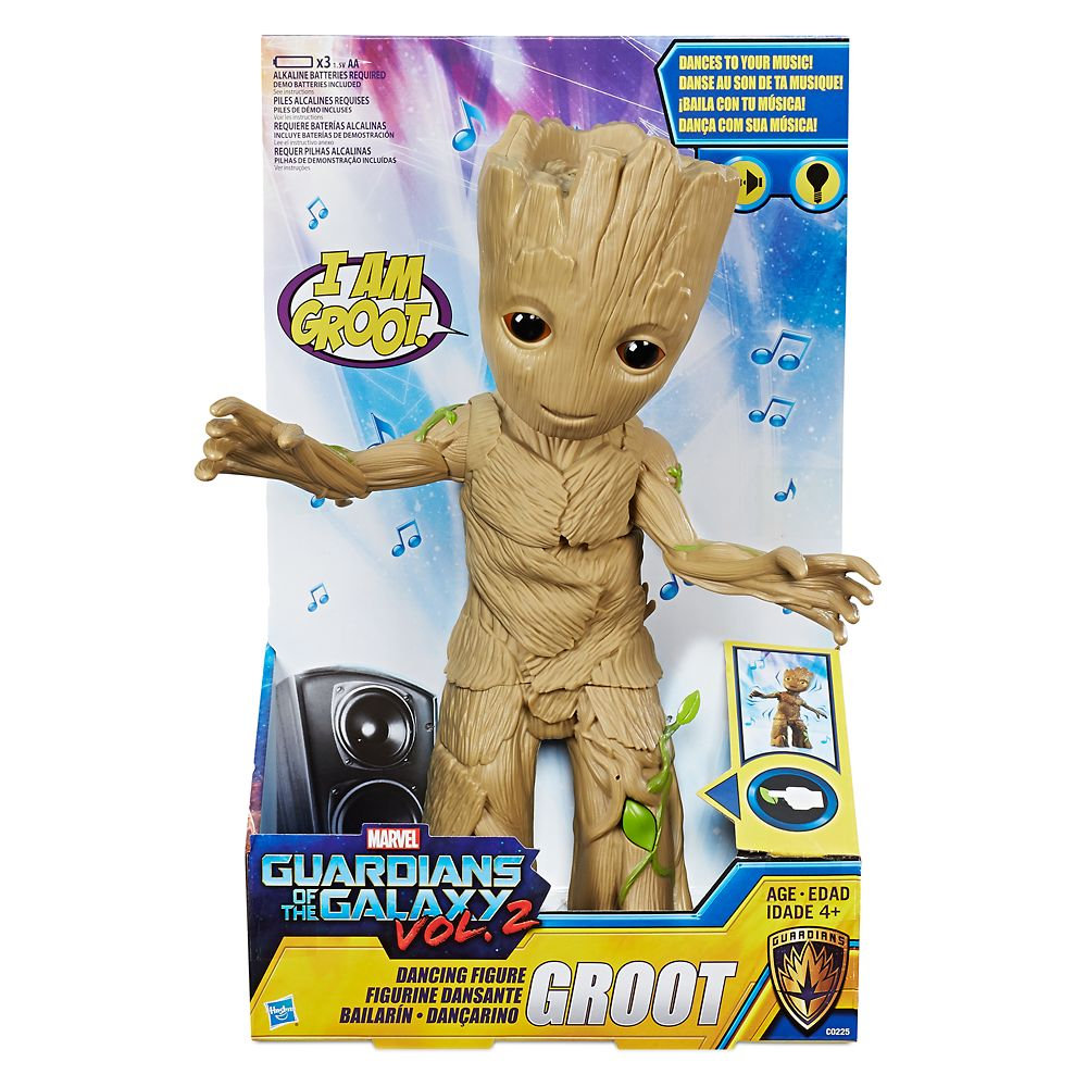 Groot Dancing Figure by Hasbro – Guardians of the Galaxy Vol. 2 – 11 1/2''