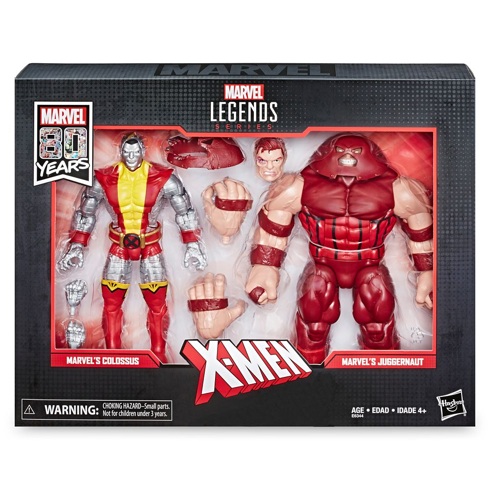 Colossus and Juggernaut Action Figure Set – Legends Series – Marvel 80th Anniversary
