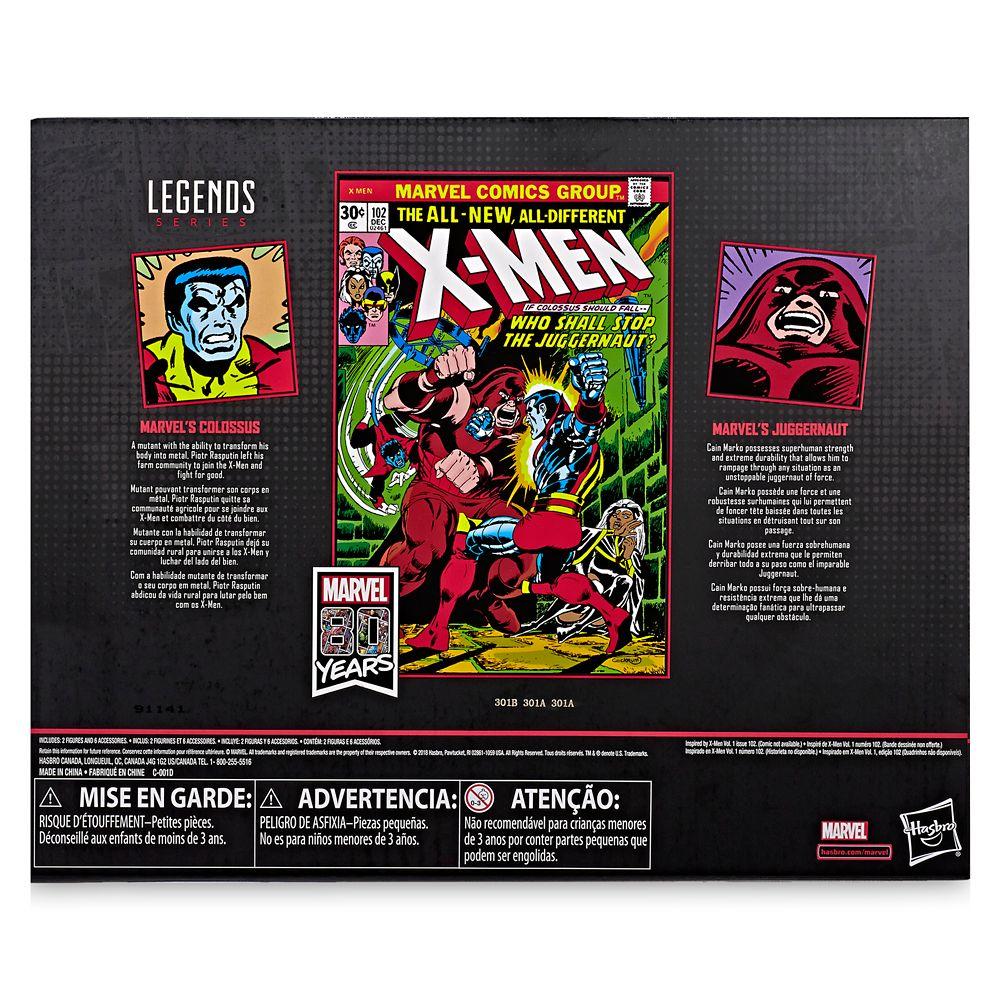 Colossus and Juggernaut Action Figure Set – Legends Series – Marvel 80th Anniversary