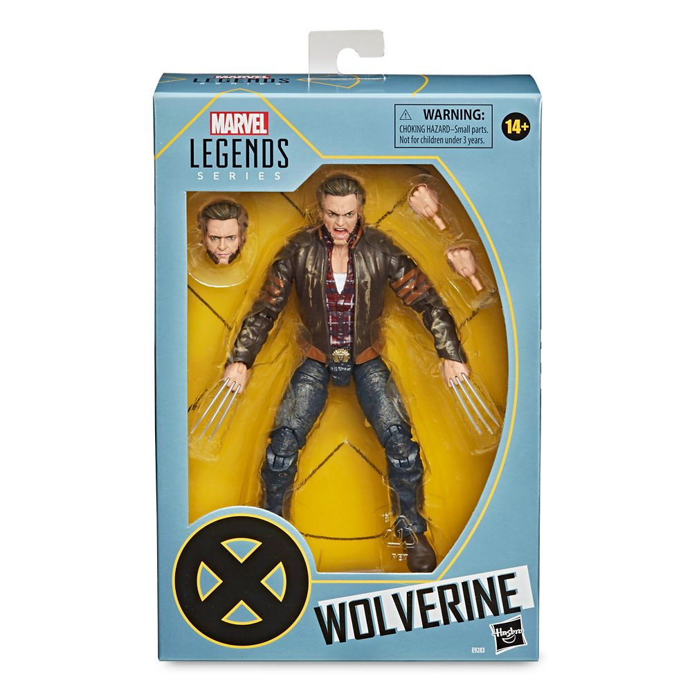 Wolverine Action Figure – Marvel X-Men Legends Series by Hasbro