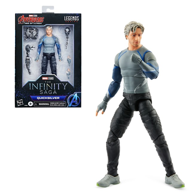 Quicksilver Action Figure by Hasbro – Legends Series – The Infinity Saga