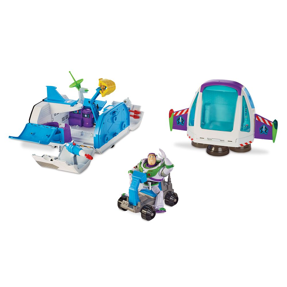 Buzz Lightyear Star Command Spaceship Play Set by Mattel