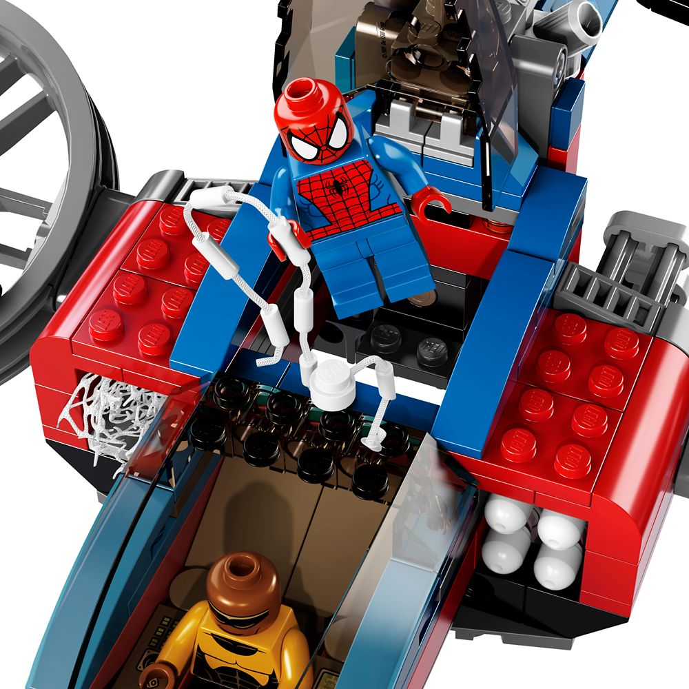 Spider-Helicopter Rescue Playset by LEGO – Ultimate Spider-Man