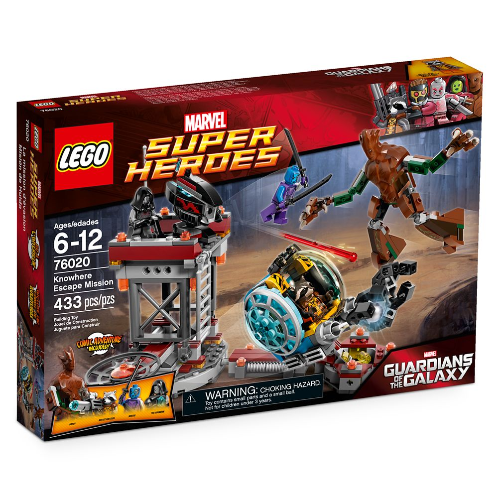 Knowhere Escape Mission Playset by LEGO – Guardians of the Galaxy