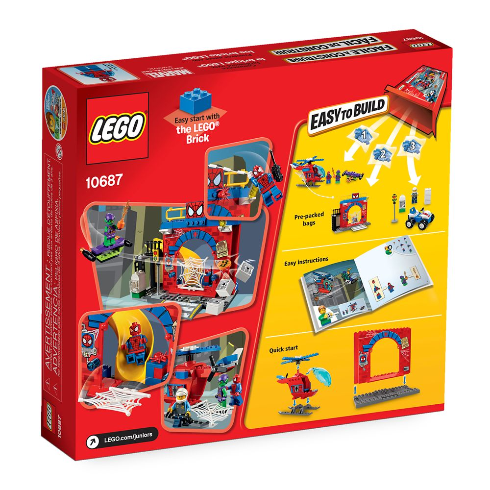 Spider-Man Hideout Playset by LEGO