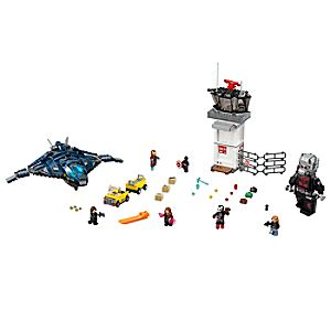 Disney Store Super Hero Airport Battle Playset By Lego  -  Captain