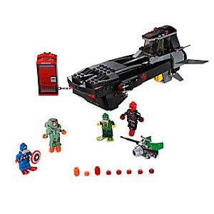 Disney Store Iron Skull Sub Attack Playset By Lego  -  Marvel Avengers