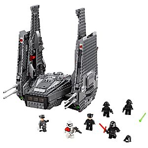 Disney Store Kylo Ren's Command Shuttle Playset By Lego  -  Star Wars: