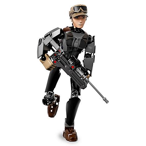Sergeant Jyn Erso Figure by LEGO - Star Wars