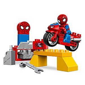 Spider - Man Web - Bike Workshop LEGO Duplo Playset