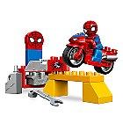 Spider-Man Web-Bike Workshop LEGO Duplo Playset