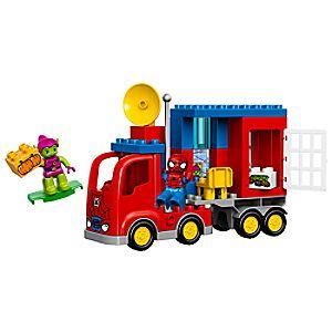 Disney Store Spider - man Spider Truck Adventure Lego Duplo Playset