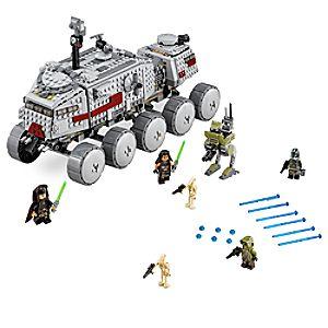 Disney Store Clone Turbo Tank Playset By Lego  -  Star Wars