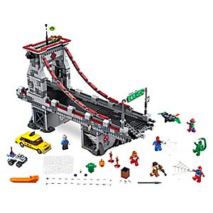 Spider - Man: Web Warriors Ultimate Bridge Battle Playset by LEGO