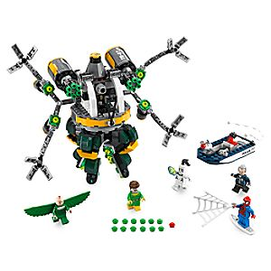 Disney Store Spider - man: Doc Ock's Tentacle Trap Playset By Lego