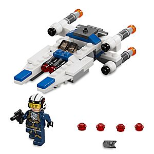 Disney Store U - wing Microfighter Playset By Lego  -  Star Wars