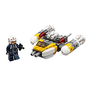 Disney Store Y - wing Microfighter Playset By Lego  -  Star Wars