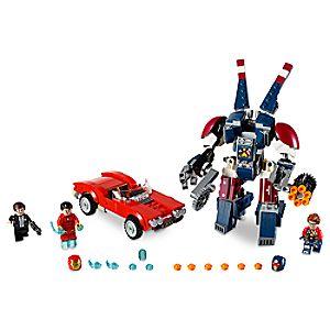 Disney Store Iron Man: Detroit Steel Strikes Playset By Lego  -