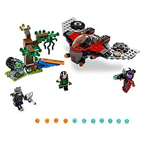 Disney Store Ravager Attack Playset By Lego  -  Guardians Of The Galaxy