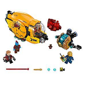 Disney Store Ayesha's Revenge Playset By Lego  -  Guardians Of The
