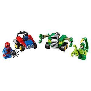 Disney Store Mighty Micros: Spider - man Vs. Scorpion Playset By Lego