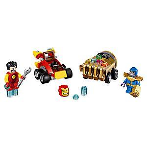 Disney Store Mighty Micros: Iron Man Vs. Thanos Playset By Lego