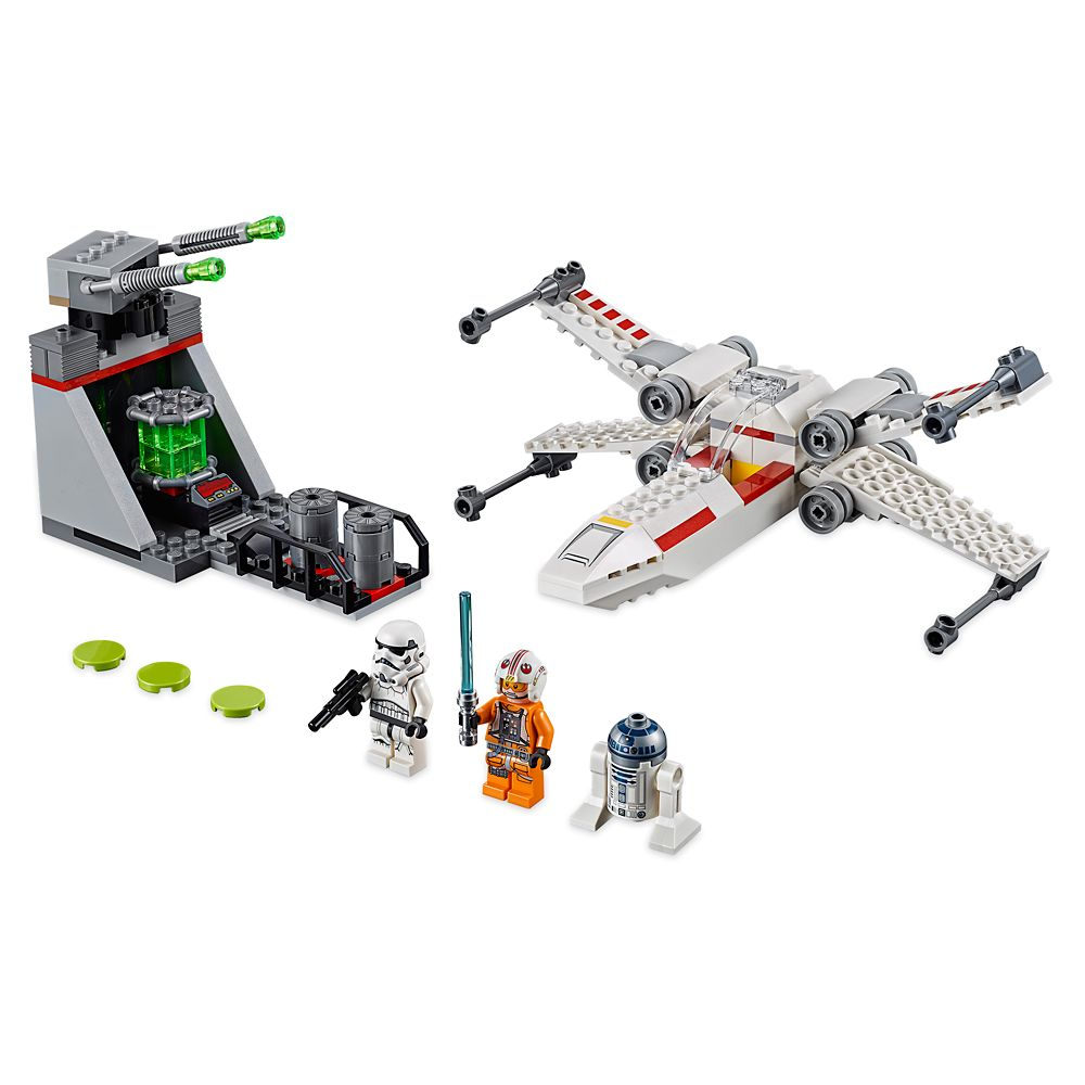 X-Wing Starfighter Trench Run Playset by LEGO – Star Wars
