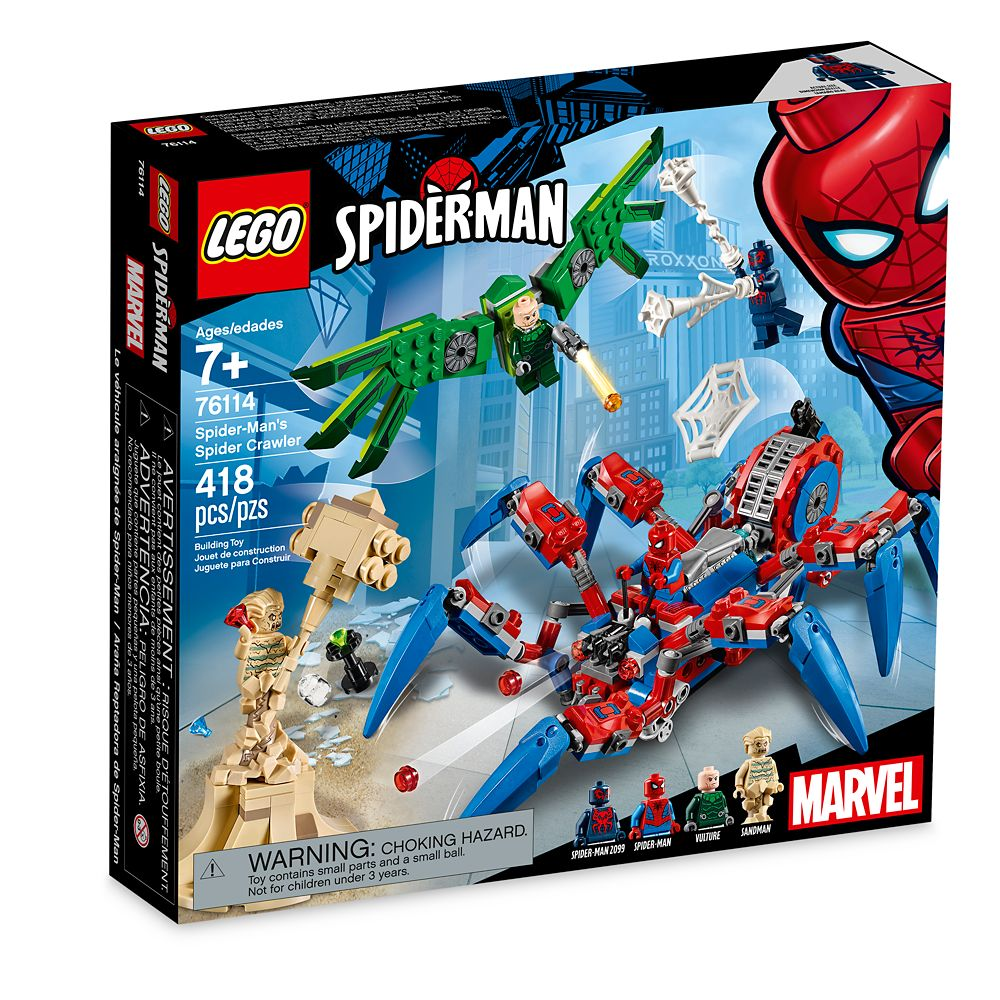 Spider-Man's Spider Crawler Playset by LEGO
