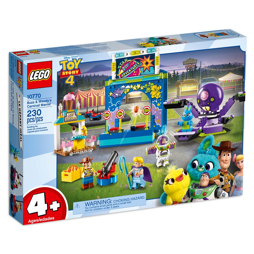 Buzz & Woody's Carnival Mania! Play Set by LEGO – Toy Story 4