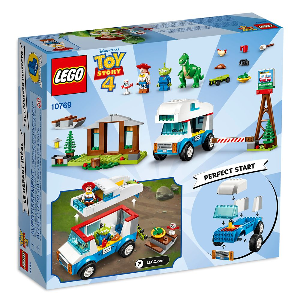 Toy Story 4 RV Vacation Play Set by LEGO