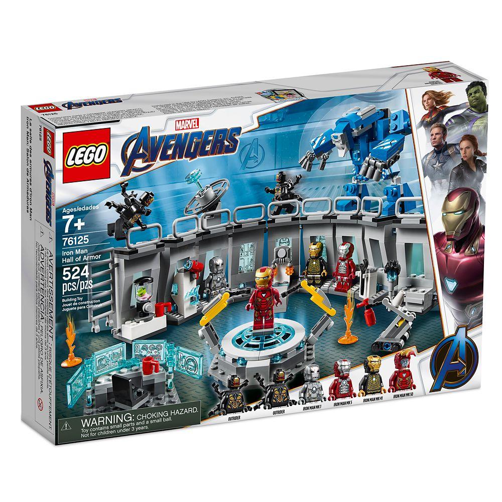Iron Man Hall of Armor Play Set by LEGO – Marvel Avengers