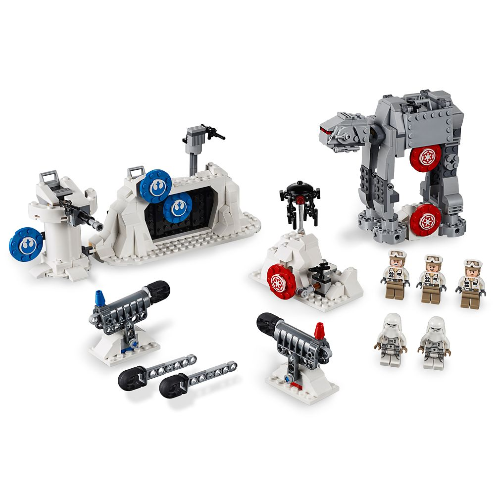 Action Battle Echo Base Defense Play Set by LEGO  Star Wars: The Empire Strikes Back Official shopDisney