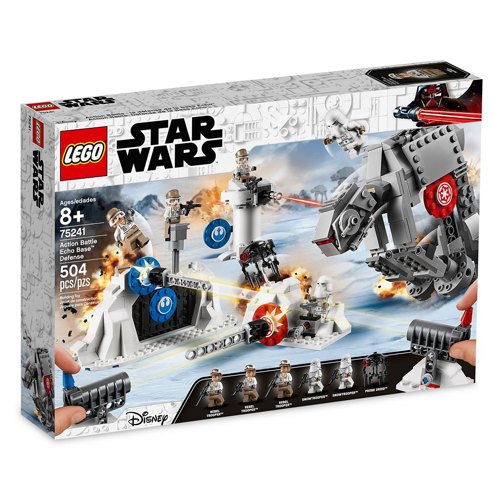 Action Battle Echo Base Defense Play Set By Lego Star Wars The Empire Strikes Back