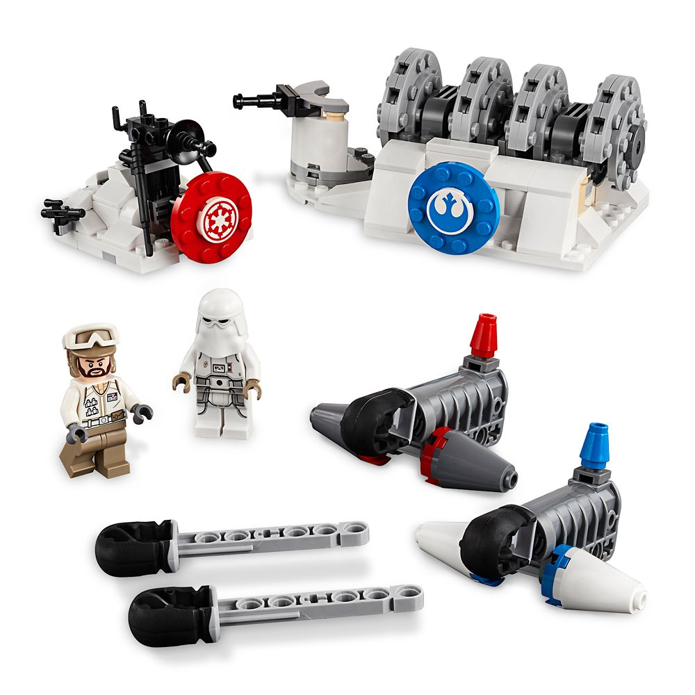 Action Battle Hoth Generator Attack Play Set by LEGO – Star Wars: The Empire Strikes Back