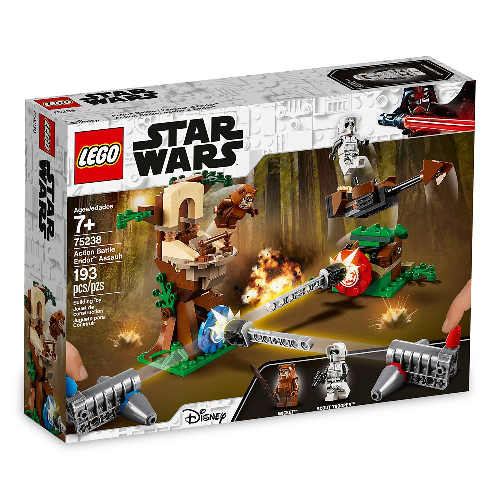 LEGO Star Wars Action Battle Endor Assault 75238 Building Set