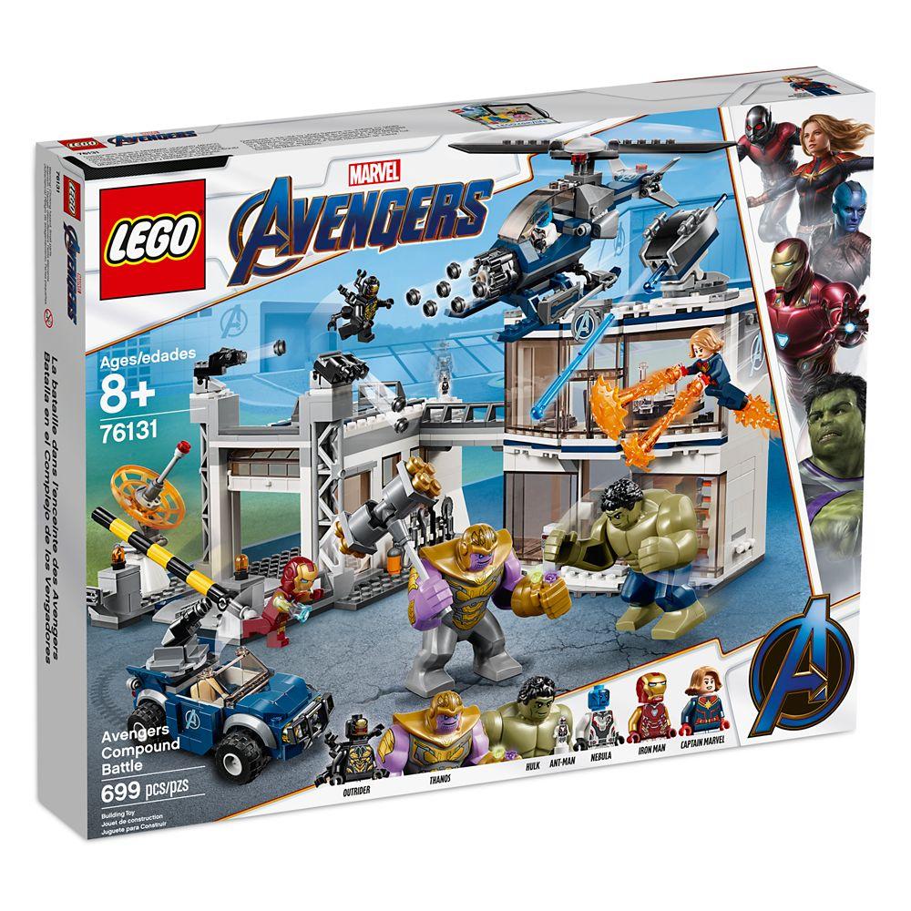 Marvel's Avengers: Endgame Compound Battle Play Set by LEGO