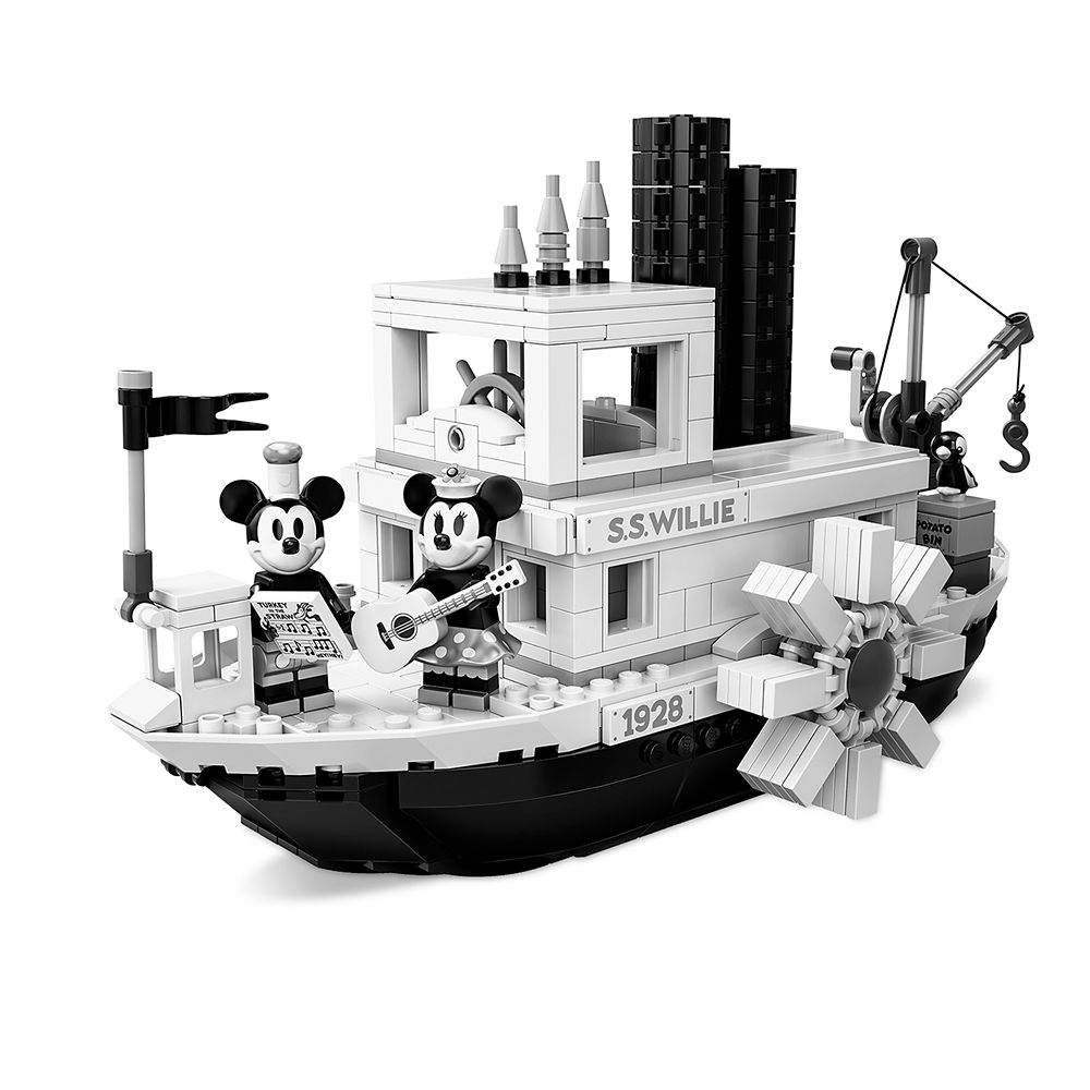 Mickey Mouse Steamboat Willie Set by LEGO Official shopDisney